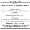 January 2014: Tobin Project Scholars File Supreme Court Brief on Rights of Corporations