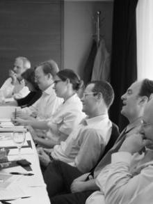 At a 2011 meeting, scholars and policymakers share ideas